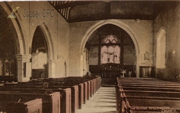 Willingdon - St Mary the Virgin Church (Interior)