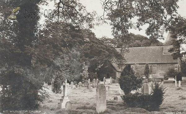 Image of Wilmington - Church of St Mary & St Peter