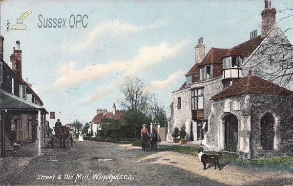 Winchelsea - Street & Old Mill (Where?!)