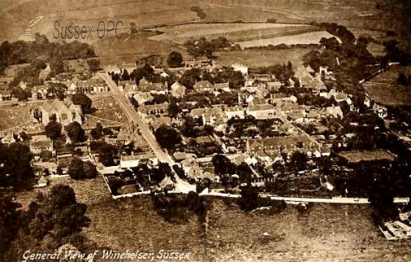 Winchelsea - Aerial view