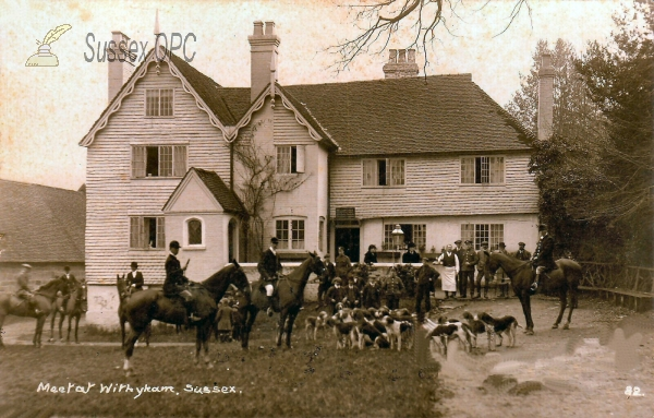 Image of Withyham - Dorset Arms (Meet of hunt)