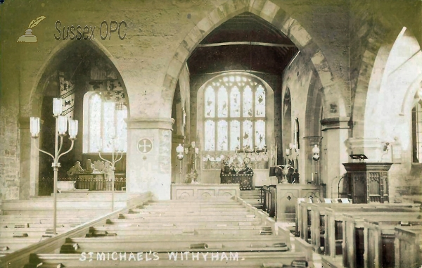 Withyham - St Michael's Church (Interior)