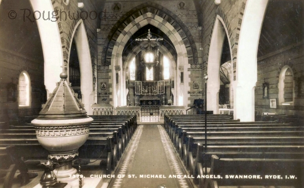 Image of Swanmore - St Michael (Interior, Font)
