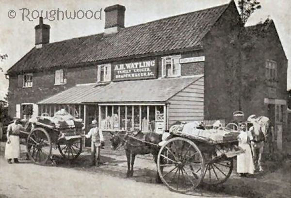 Bracon Ash - Post Office (A H Watling Family Grocer)