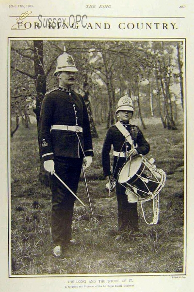 1st Royal Sussex Regiment - 'The Long and the Short of it'