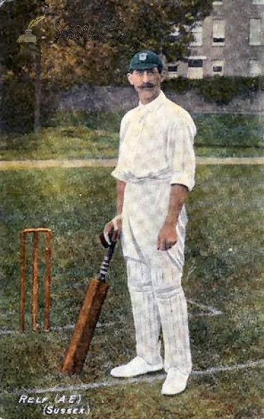 Image of Sussex Cricketer - A E Relf