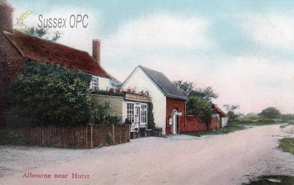 Albourne - Post Office (A Gale)