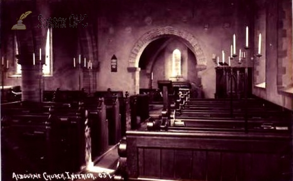 Image of Albourne - St Bartholomew's Church (Interior)