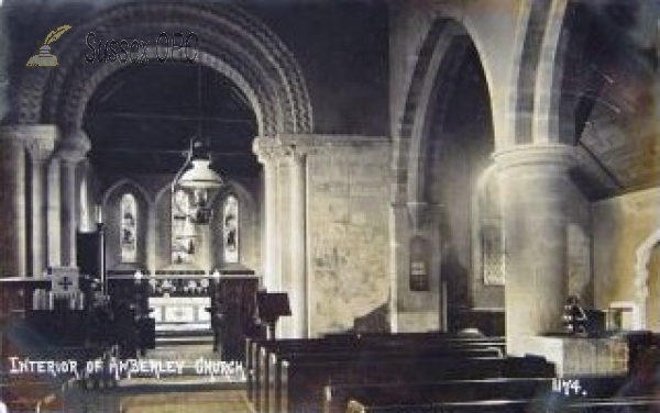 Image of Amberley - St Michael's Church (interior)