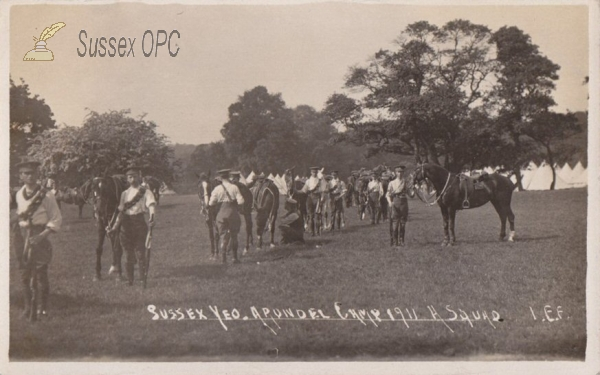Arundel - Sussex Yeomanry at Arundel Camp
