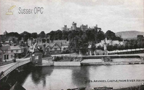 Arundel - View from the River Arun