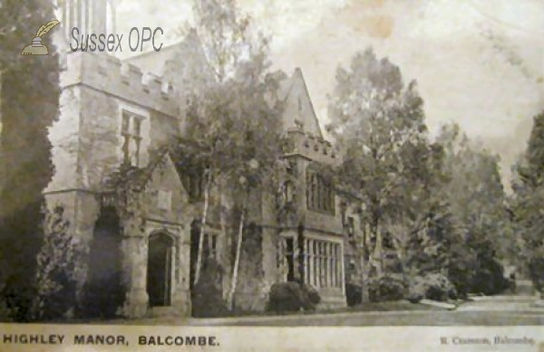 Balcombe - Highley Manor