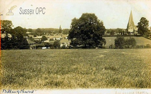Image of Billingshurst - View of the Village & Church