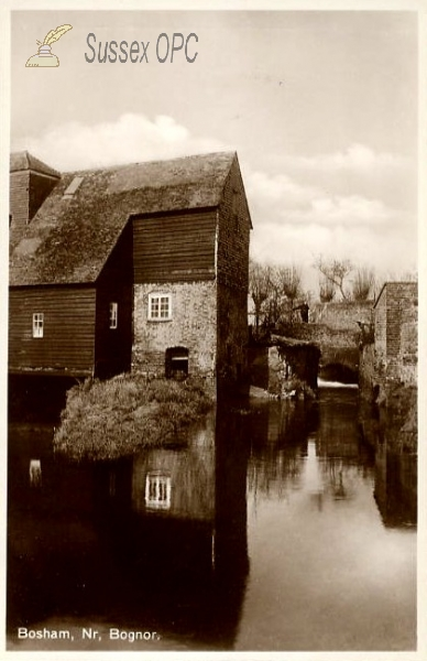 Bosham - The old mill at high water
