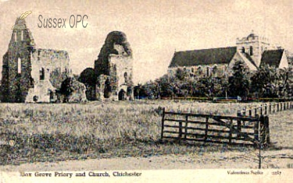 Boxgrove - St Mary and St Blaise Church & Priory Ruins