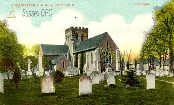 Image of Broadwater - St Mary's Church