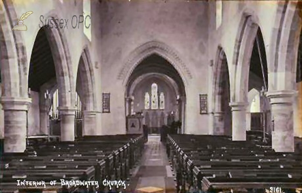 Broadwater - St Mary's Church (Interior)