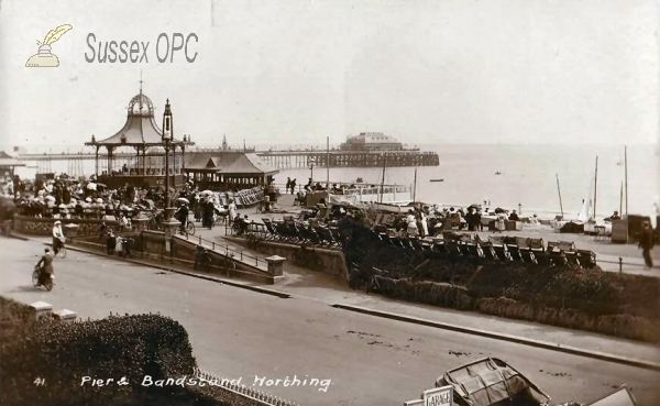Worthing - Pier & Bandstand