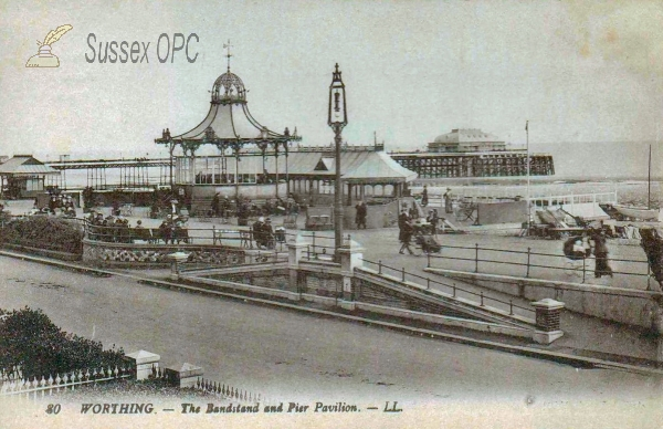 Worthing - Bandstand & Pier