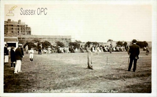 Worthing - Charlecote School - Sack Race