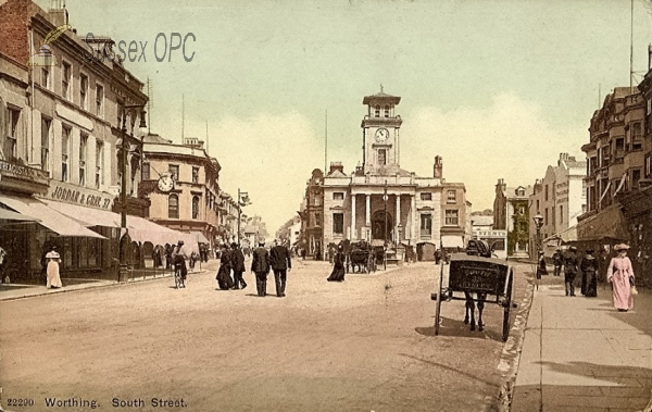 Image of Worthing - South Street & Town Hall