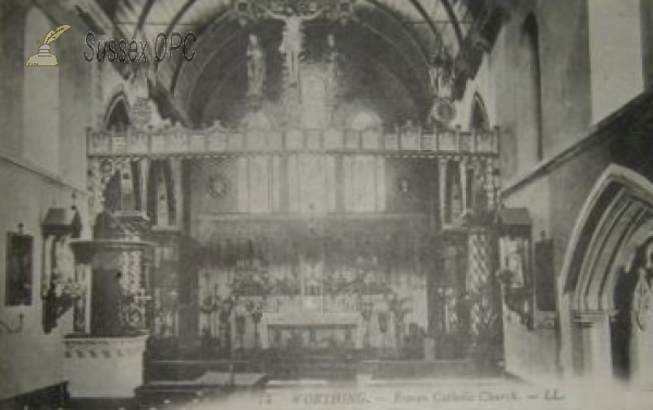 Worthing - St Mary of the Angels (Interior)