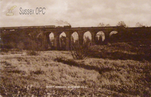 Burgess Hill - Eight Arches (Railway viaduct)