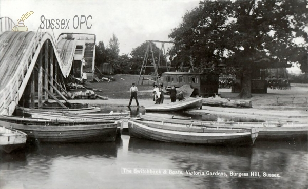 Burgess Hill - Victoria Gardens (Switchback & Boats)