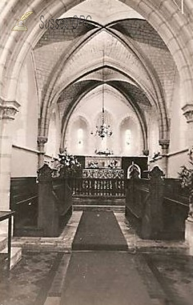 Burpham - St Mary's Church (interior)