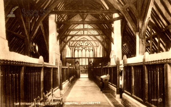 Chichester - St Mary's Hospital (Interior)