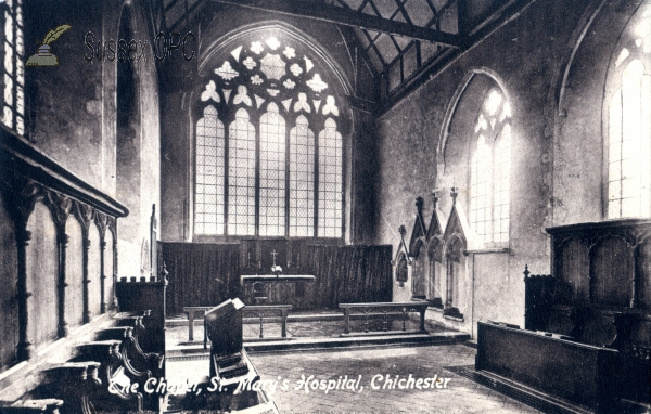 Chichester - St Mary's Hospital - The Chapel