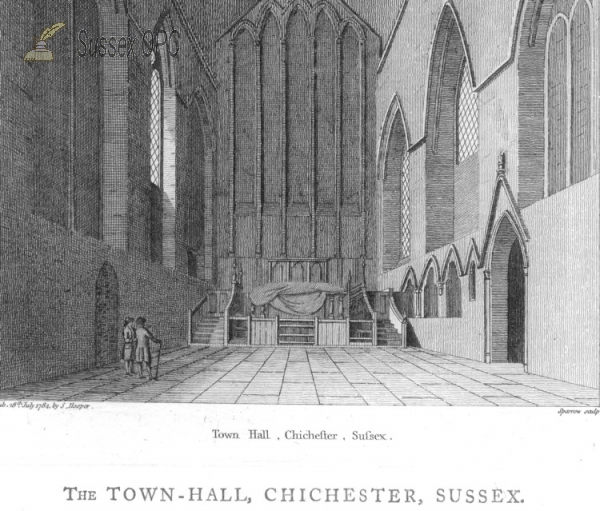 Chichester - Town Hall (Greyfriars Church)