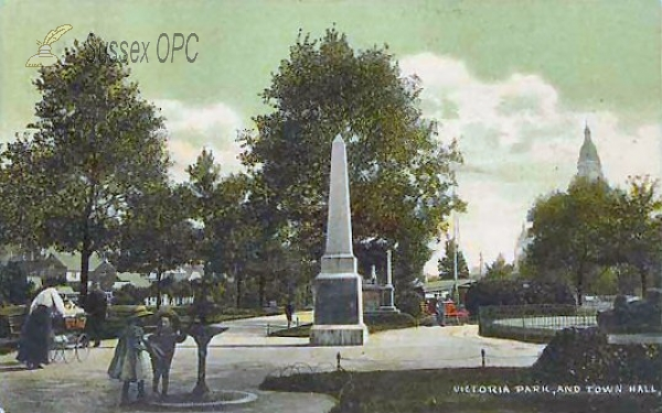 Image of Chichester - Victoria Park & Town Hall