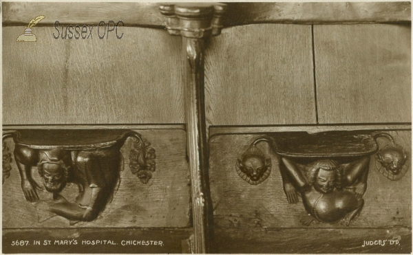 Chichester - St Mary's Hospital Chapel (Misericords)