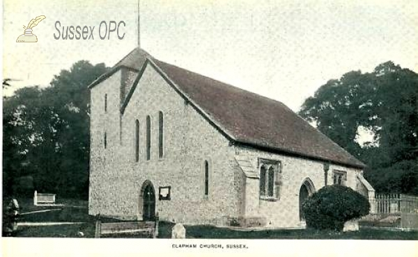 Image of Clapham - St Mary's Church