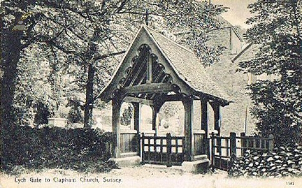 Image of Clapham - St Mary's Church (Lych Gate)