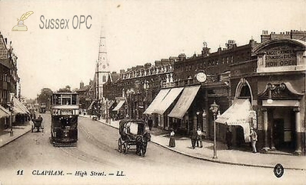 Image of Clapham - High Street (St Mary)