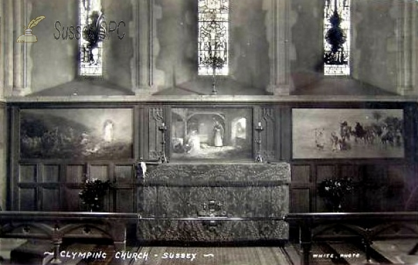 Image of Climping - St Mary's Church (Altar)