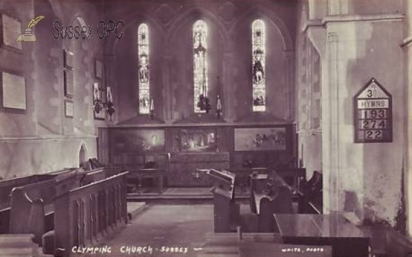 Image of Climping - St Mary's Church (Interior)