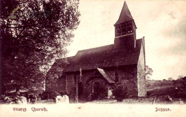 Image of Coates - St Agatha's Church
