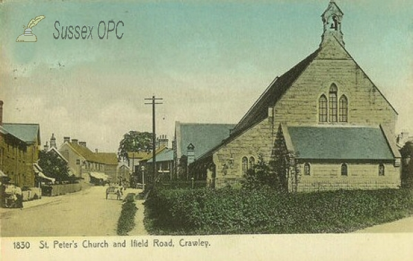 Crawley - St Peter's Church, West Green (Ifield Road)