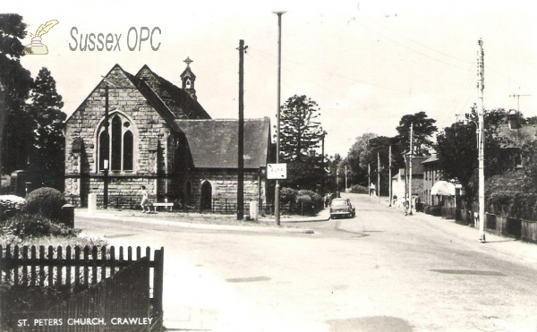 Image of Crawley - St Peter's Church, West Green