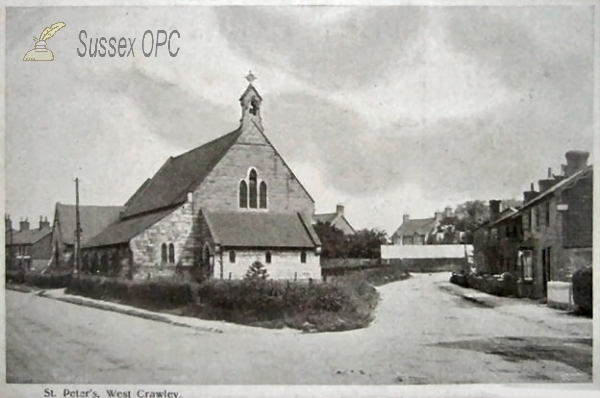 Crawley - St Peter's Church, West Green