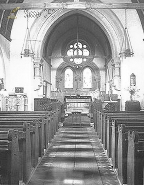 Image of Lowfield Heath - St Michael & All Angels (Interior)