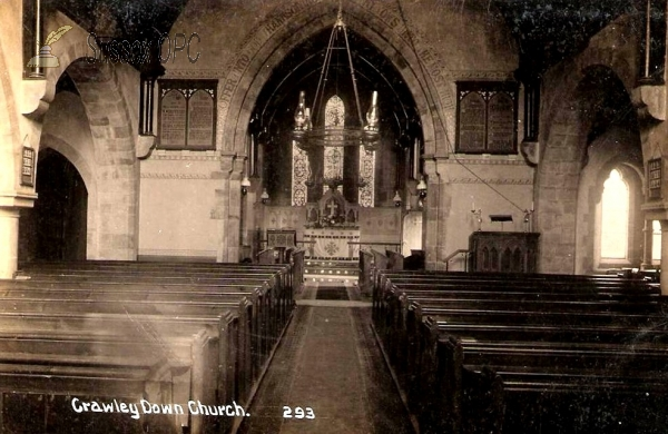 Image of Crawley Down - All Saints Church (Interior)