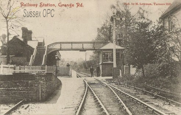 Image of Crawley Down - Grange Road Railway Station