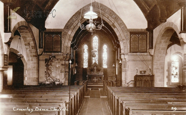 Crawley Down - All Saints (Interior)