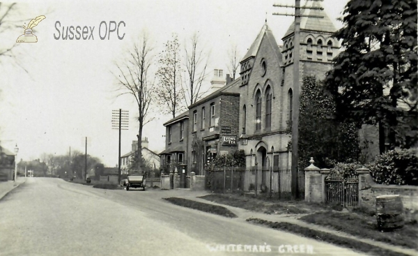 Whiteman's Green - Post Office & Wesleyan Chapel