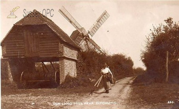 Ditchling - Old Land Mill