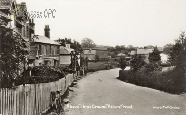 Ashurst Wood - Above the Three Crowns